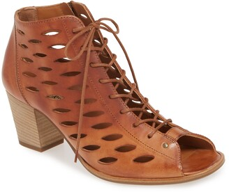 Paul Green Bali Lace-Up Bootie Sandal