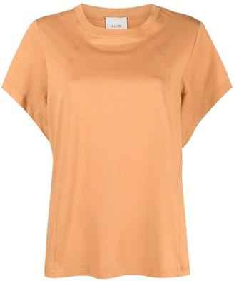 Alysi batwing sleeve cotton T-shirt