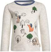Mothercare PATCH WRAPAROUND WOODLAND Long sleeved top grey