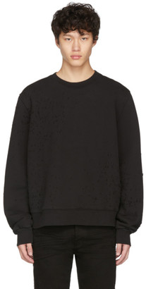 Amiri Black Shotgun Sweatshirt