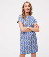 LOFT Spacedye Shift Dress