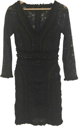 French Connection Black Lace Dress for Women