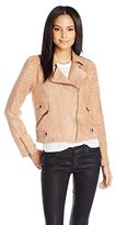 MinkPink Women's Now Or Never Faux-Suede Jacket