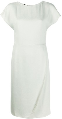 Emporio Armani Short-Sleeved Day Dress