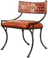 Bunny Williams Home Helena Chair - Caramel Leather
