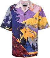 Prada Landscape print shirt