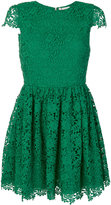 Alice + Olivia Alice+Olivia lace embroidered shift dress