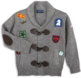 Andy & Evan Boys' Patches Toggle Cardigan - Baby