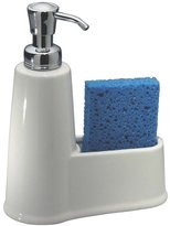 InterDesign York Soap & Sponge Caddy, White