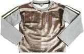 Miss Grant Sequined Cotton Sweatshirt