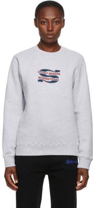 Stussy Grey Steam Sweatshirt