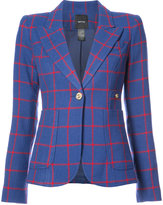 Smythe one button V-neck blazer