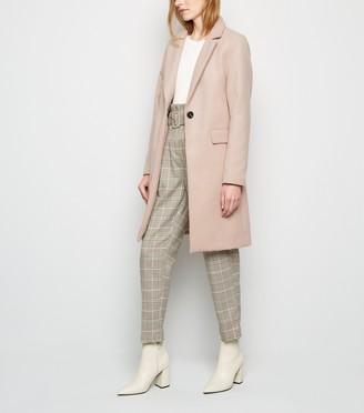 New Look Revere Collar Coat