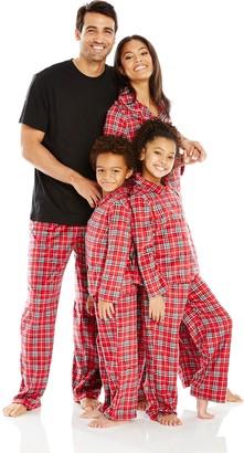 Karen Neuburger Family Minky Fleece Plaid Holiday Matching Pj Set