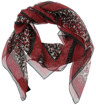 Trent Nathan Leopard Print Scarf