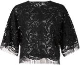 ADAM by Adam Lippes lace dolman sleeve blouse - women - Cotton - XS