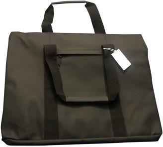 Rains Black Polyester Travel bags