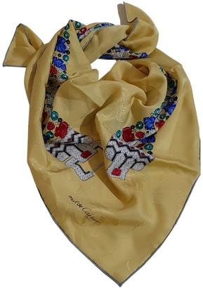 Cartier Yellow Silk Scarves