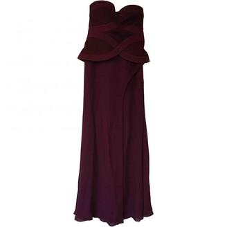 Sass & Bide burgundy Polyester Dresses