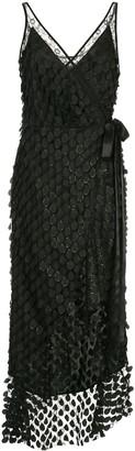 Manning Cartell Australia Embroidered Flared Midi Dress