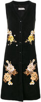 Coach floral embroidered dress