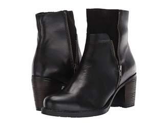 Eric Michael Riva (Black Leather) Women's Boots