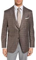 Peter Millar Men's Classic Fit Plaid Wool Blend Sport Coat