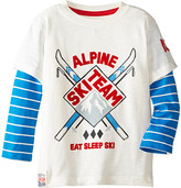 Hatley 2-in-1 Tee - Ski Team (Toddler/Little Kids/Big Kids)
