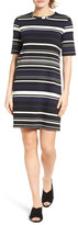 Halogen Stripe Tunic Dress