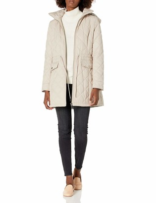 Calvin Klein Womens Quilted Jacket with Hood