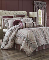 J Queen New York Gianna Quartz 4-Pc. Queen Comforter Set Bedding