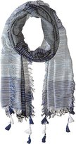 BCBGMAXAZRIA Women's Color Block Scarf
