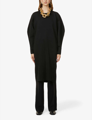 Rito Poly relaxed-fit stretch-knit midi dress