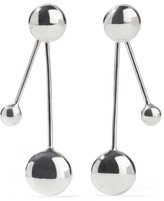 Pamela Love Large Satellite Silver Earrings - one size