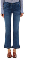 3x1 Women's Military Crop Baby Jeans-NAVY