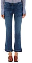3x1 Women's Military Crop Baby Jeans-NAVY