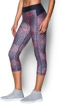 Under Armour Women's HeatGear Armour Print Capris