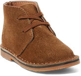 Ralph Lauren Toddler Carl Suede Chukka Boot