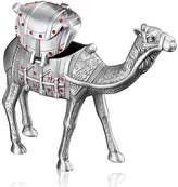 Infinite U Unique Standing Camel Shape Inlay Diamond Antique Silver Small Metal Trinket Jewellery Box Upscale Gifts