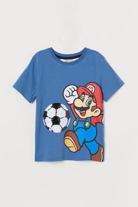 H&M Flip-sequin T-shirt
