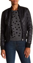 Romeo & Juliet Couture Lightweight Quilted Bomber Jacket