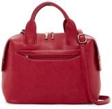 Pink Haley Remi Top Handle Faux Leather Satchel