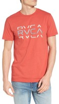RVCA Men's Cut Graphic T-Shirt