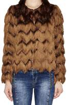 Hoss Intropia Jacket With Fringe