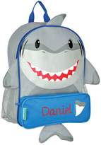 Stephen Joseph Personalized Shark Sidekick Backpack with Embroidered Name