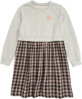 Tucker + Tate Varsity Long Sleeve Dress