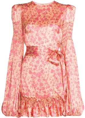 The Vampire's Wife The Whole Lotta Liberty Silk Mini Dress