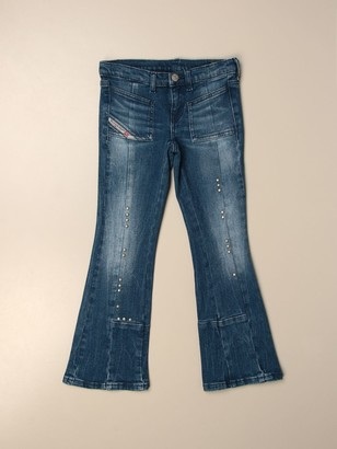 Diesel High-waisted With Flared Bottom