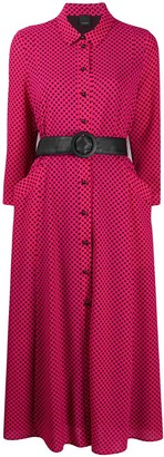 Pinko Polka Dot Shirt Dress