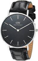 Daniel Wellington Women's 36mm Leather Band Steel Case Quartz Watch Dw00100147